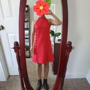 Like New Vince Camuto Laguna Scalloped Trim Dress